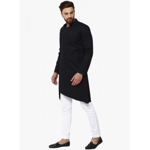 0a06601c78 Buy See Designs Black & White Solid Kurta with Pyjamas online ...
