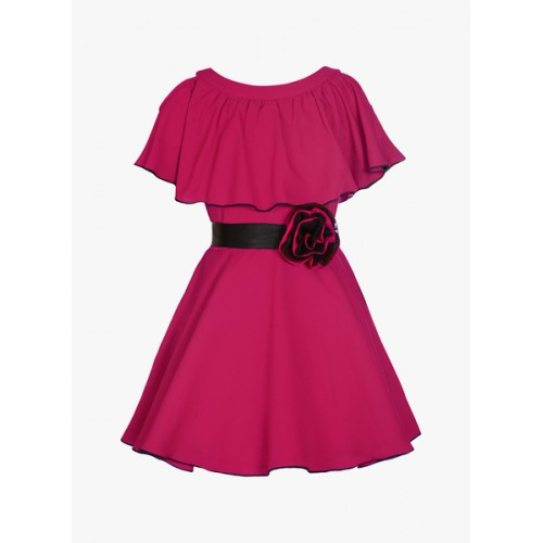Naughty Ninos Maroon Party Dress