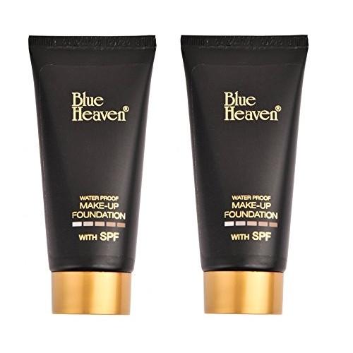 Blue Heaven Makeup Foundation Tube 50 ml(Set Of 2)