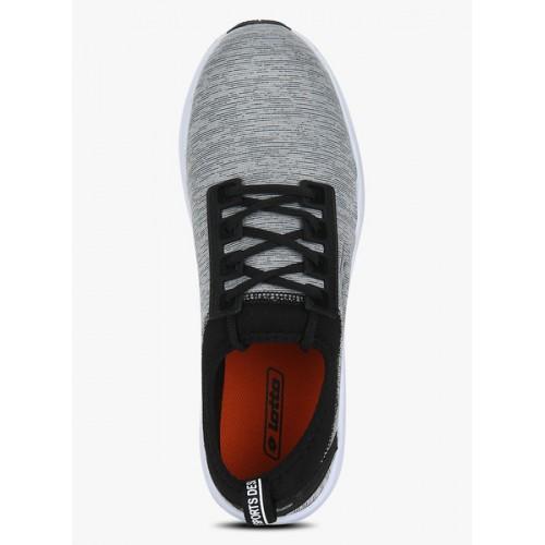Lotto Amerigo Grey Mesh Lace Up Sports Shoes