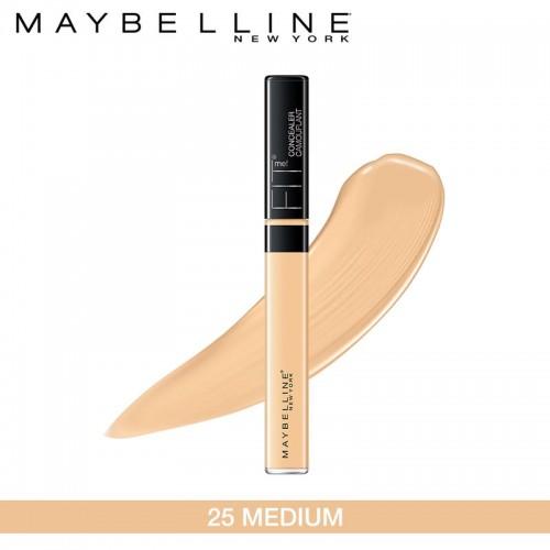 Maybelline New York Fit Me Concealer, 25 Medium, 6.8ml