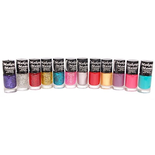 Makeup Mania Nail Polish Set of 12 Pcs (Multicolor Set # 92)