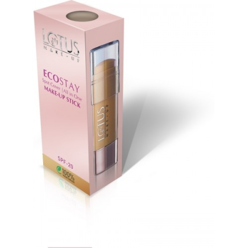 Lotus Herbals Ecostay Spot Cover All In One Make-up Stick Concealer