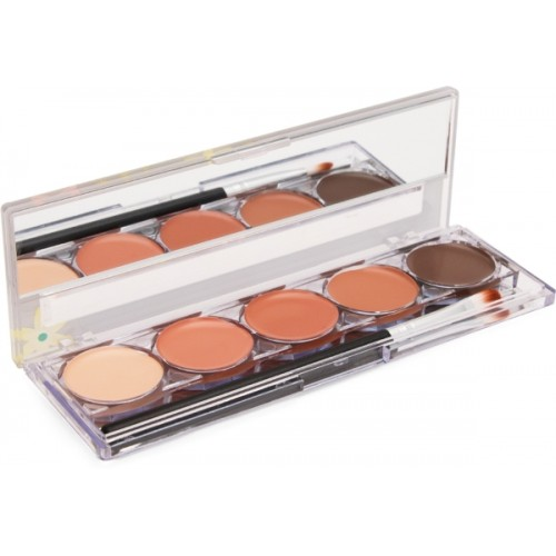 Kiss Beauty 5 IN 1 CONTOUR SHADE PALLETTE Concealer