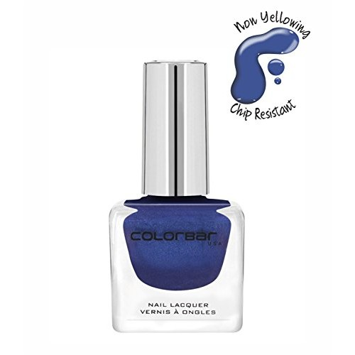 Colorbar Colorbar Luxe Nail Lacquer, Blue Topaz 091, 12ml