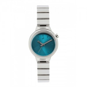 Fastrack Silver Watch For Women 6149SM01