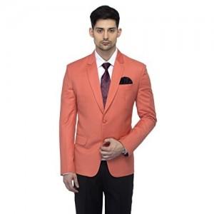 Favoroski Light Orange Raymond Wool Blazers