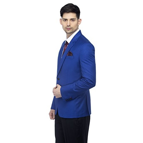 Favoroski Royal Blue Raymond Wool Blazer