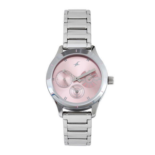 0833c719f Buy Fastrack Pink Dial Women s Chronograph Watch - 6078SM07 online ...