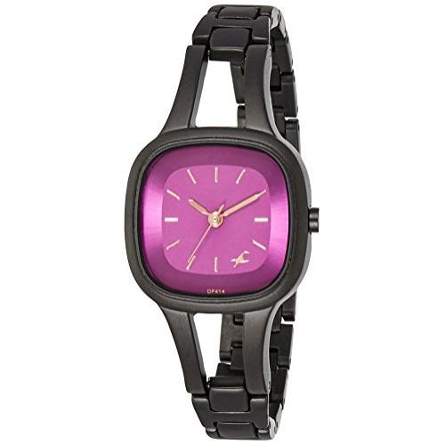 2ae274fbf Buy Fastrack Pink Dial Women s Analog Watch-6147NM03 online ...