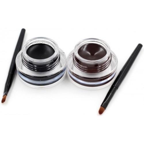 Music Flower Black & Brown Water Proof eyeliner