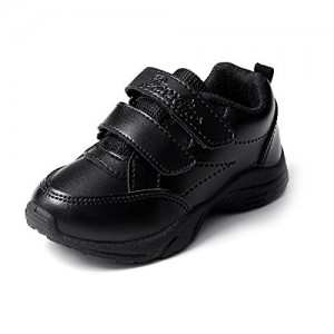 Liberty Black Unisex School Shoes