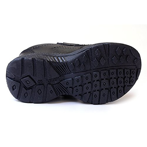 Liberty Black Unisex School Shoes