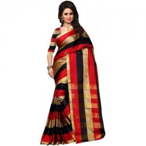 Jhilmil Fashion Self Design Cotton Saree