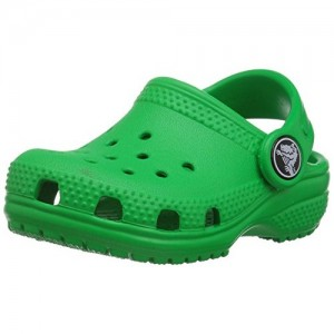 Crocs Kids' Green Classic K Clog