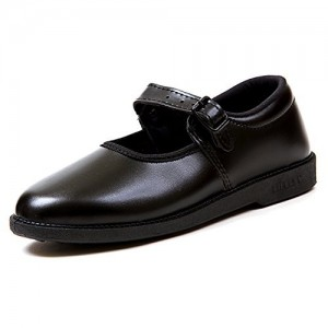 Liberty Black Girl School Shoes