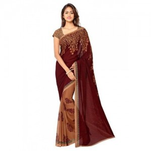 Anand Sarees Faux Georgette Saree