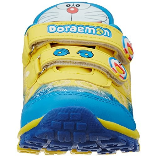 Doraemon Yellow & Sky Blue Boy's Shoes