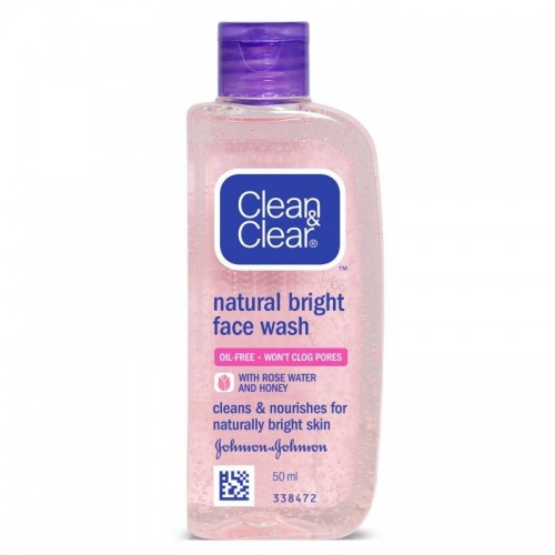 Clean & Clear Natural Bright Face Wash,100 ml