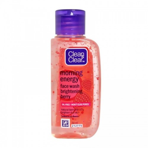Clean & Clear Morning Energy Face Wash - Brightening Berry