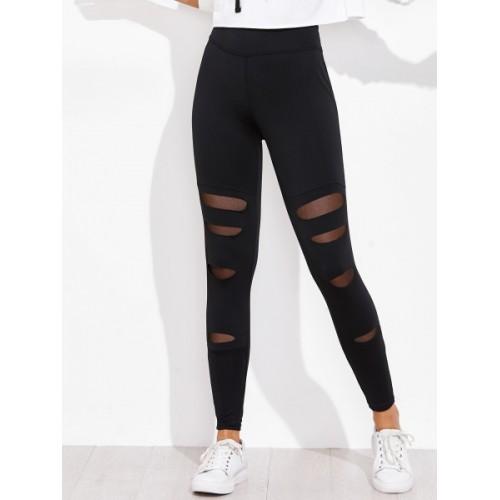 d996b9d1a2629 Buy Blinkin Solid Women Black Tights online | Looksgud.in