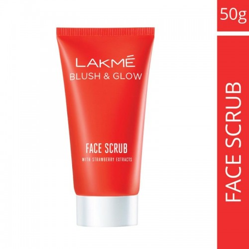 Lakme Blush & Glow Face Scrub With Strawberry Extracts (50gm)