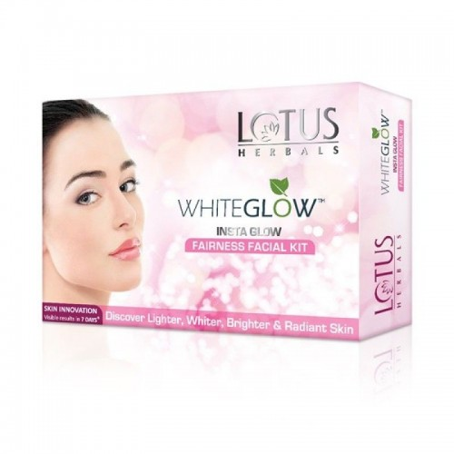Lotus Herbals Whiteglow Insta Glow Fairness Facial Kit (Kit)