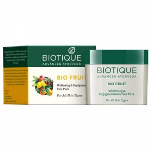 Biotique Bio Fruit Whitening & Depigmentation Face Pack (75gm)