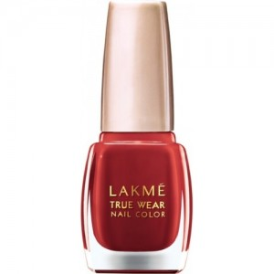 Lakme True Wear Nail Color Reds & Maroons 404