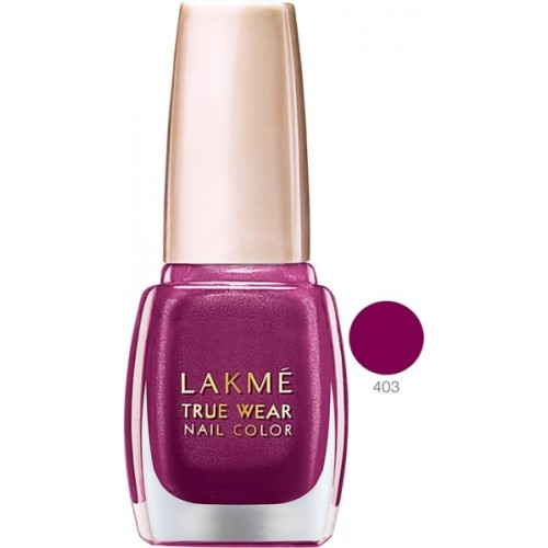 Lakme True Wear Nail Color Reds & Maroons 403