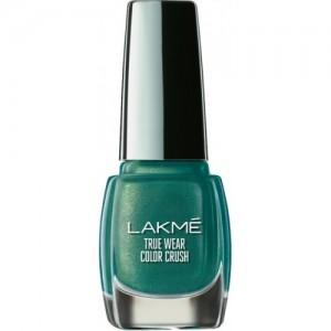 Lakme Truewear Olive Green Nail Polish