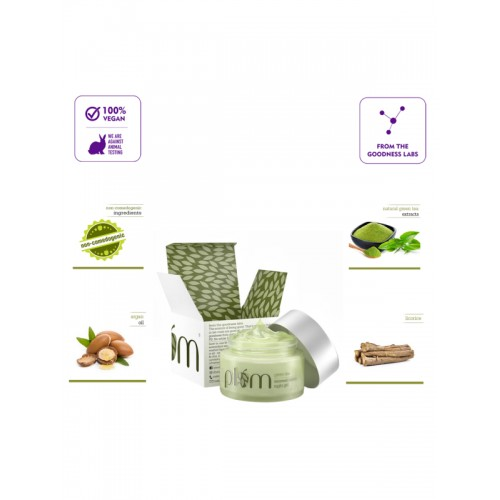 Plum Green Tea Renewed Clarity Night Gel 50 ml