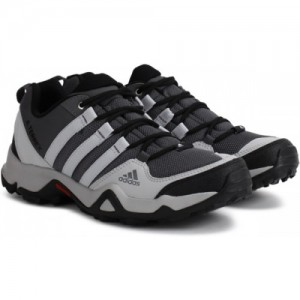 Adidas Path Cross Black Synthetic Leather Outdoor Shoes