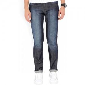 Wrangler Regular Men's Dark Blue Jeans