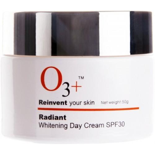 O3+ Radiant Whitening Day Cream SPF - 30