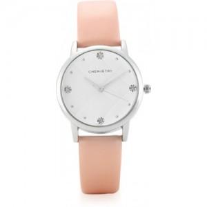 Chemistry CM8SL.2.17 White Dial & Peach PU Strap Watch