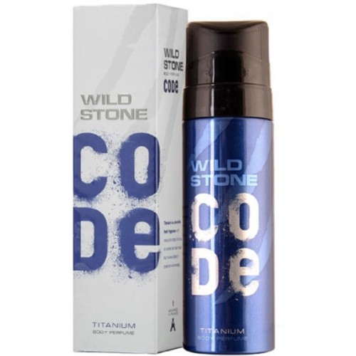 Wild Stone Titanium Perfume Body Spray  -  For Men & Women