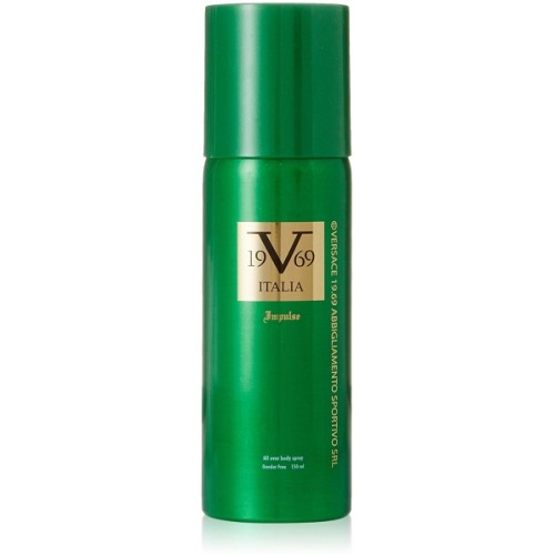 Italia Vesrace V 19.69 Impulse 1 Deodorant Spray  -  For Men & Women
