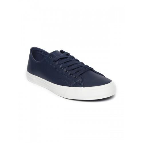 of Benetton Men Navy Blue Sneakers