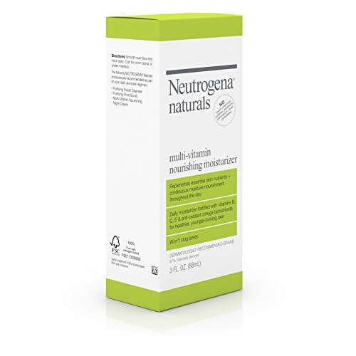 Neutrogena Naturals Multi-Vitamin Nourishing Moisturizer, 3 Ounce