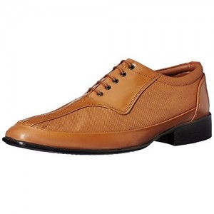 Fortune Tan Synthetic Men's Formal Shoes