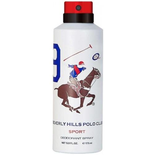 Beverly Hills Polo Club Sport No 9 Deodorant for Men Deodorant Spray  -  For Men