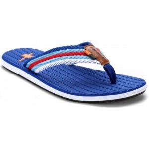 Sparx Blue Rubber Slip On Flip Flops