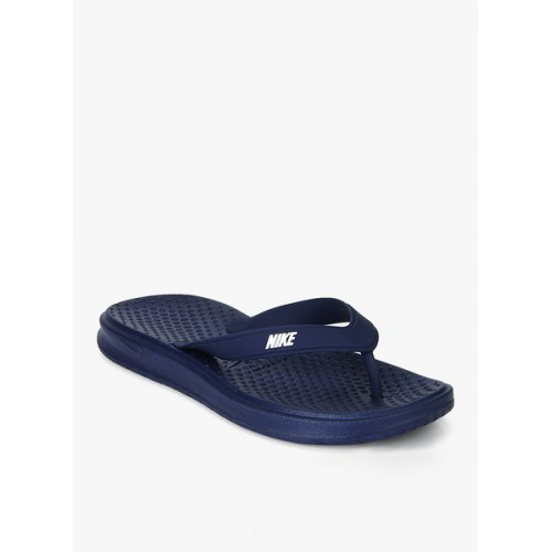 f5e23e37cfea7 Buy Nike Navy Blue Slip On Solay Thong Slippers online | Looksgud.in