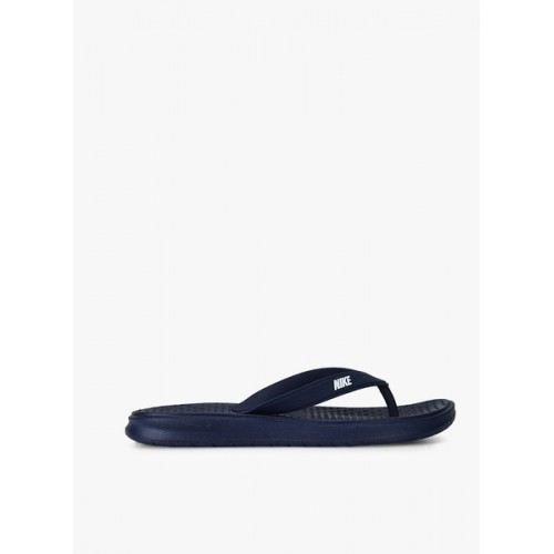 Nike Navy Blue Slip On Solay Thong Slippers