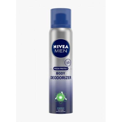 Nivea Men Fresh Protect Body Deodorizer Energy 120 Ml