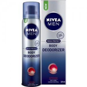 Nivea Men Fresh Protect Intense Deodorizer Body Spray  -  For Men