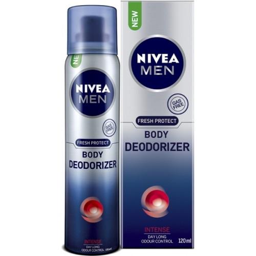 Nivea Men Fresh Protect Intense Deodorizer Body Spray  -  For Men