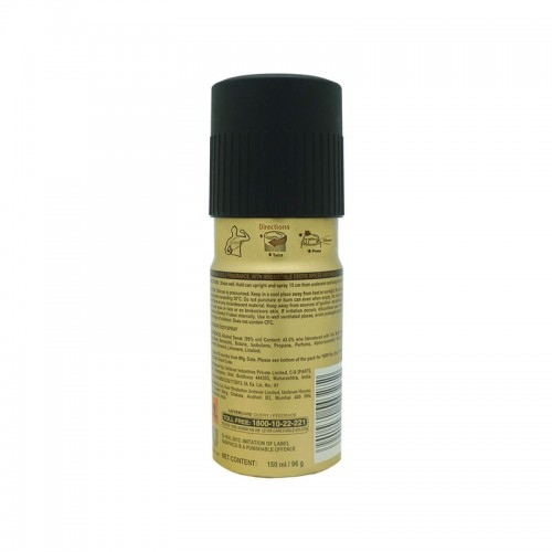 Axe Gold Temptation Deo, 150ml