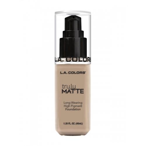 L.A colors Truly Matte Soft Beige Liquid Foundation CLM354